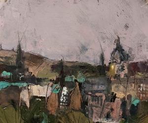 Susan Reid -  Edinburgh Rooftops
