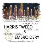 Lubi Lykan: An Exhibition of Harris Tweed & Embroidery in Gallery 3