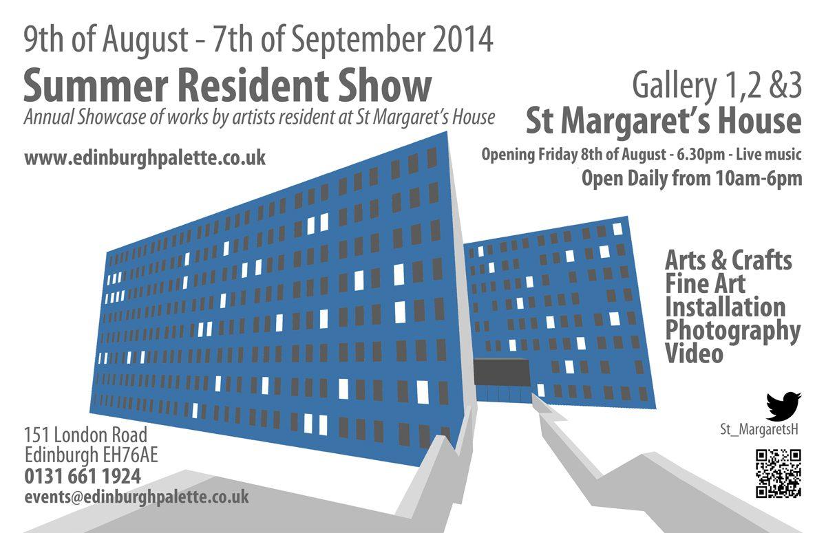St Margaret's House Summer Residents Show 2014