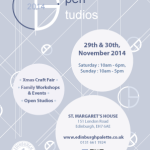 Winter Open Studios | November 2014