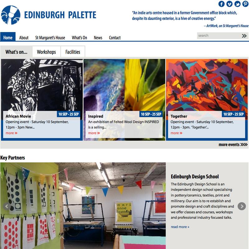 Best Home Design Websites 2015: Edinburgh Palette