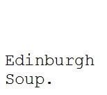 edinburgh soup button
