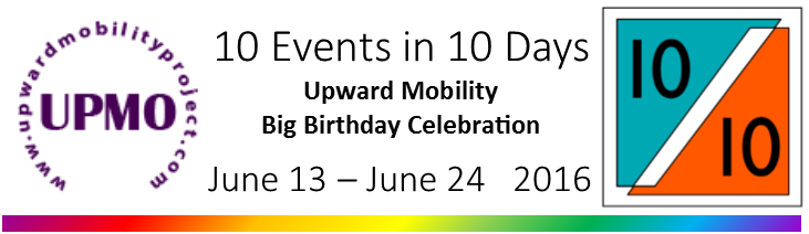 10 events in 10 days. June 13 - June 24
