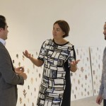 Kezia Dugdale visits Gallery 2