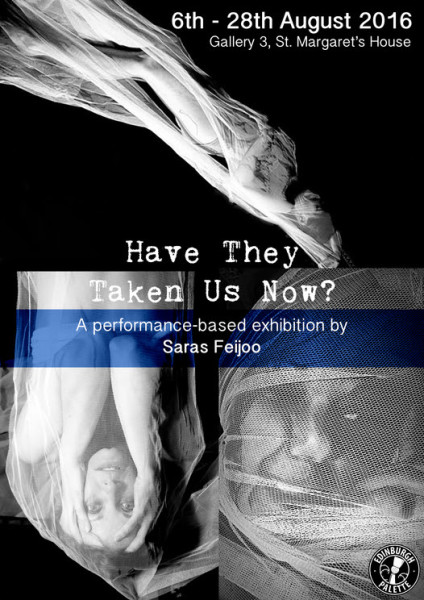 Have they taken us now? by Saras Feijóo