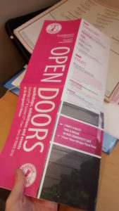Open Doors Programme available