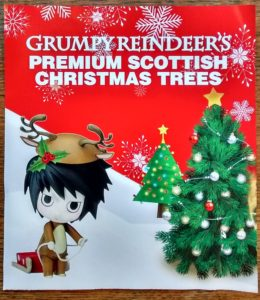 Grumpy Reindeers are selling premium Scottish Christmas Trees