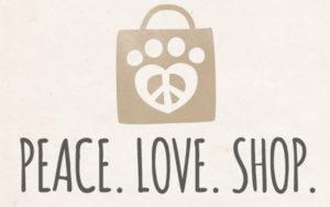 """Peace. Love. Shop."""