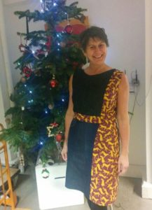 Dress made by Isabell Buenz from Swap Shop materials