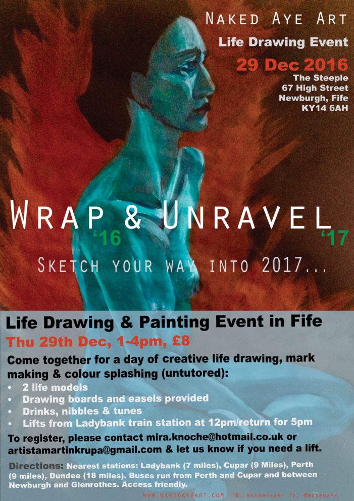 Wrap and Unravel Flyer
