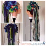 Make Your Own Fantasy Hair Fall of Dreads – Festie Fashion Fun!
