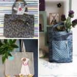 Learn to Sew - Make a Tote Bag from Curtains