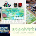 Paint, Stitch & Sip – Design Your Own Fabric & Make A Clutch Bag!