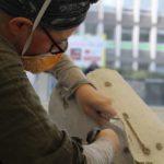 Residency | An artist at work