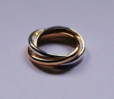 Make a silver Russian wedding ring
