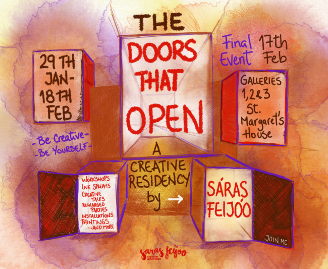 The Doors that Open - Saras Feijoo