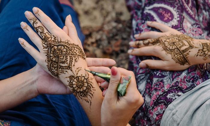 Henna Tattoo Edinburgh : Henna tattoo evening in caim edinburgh palette