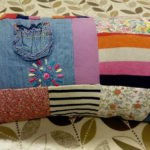 Patchwork Memory Cushion