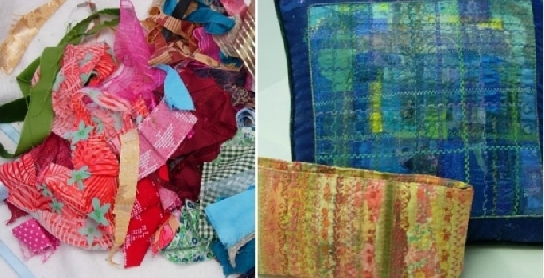 Rags to Riches- a creative fabric upcycling workshop