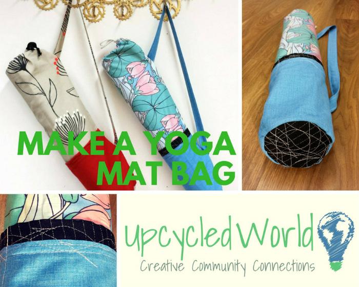 Easy Sew Class - Make a Yoga Mat Bag