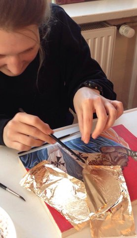 Icon Painting/Egg Tempera Workshop