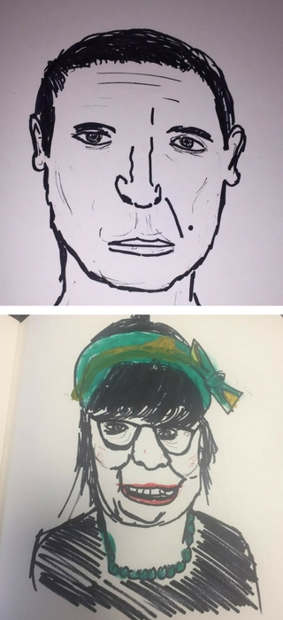 Doodle Portrait Sketches For All