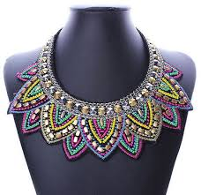 2 Week beaded Collar or Necklace Workshop