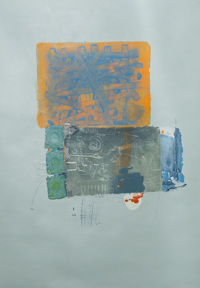Alan Chapman, Terminal, Acrylic, 80 x 60 cm Image credit; Martin Alan Smith