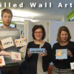 Stencilled Wall Art Class