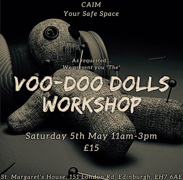 Voodoo Dolls Workshop