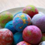 Juggling balls Felt, balloons, grains Mayfield Textiles Group
