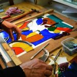 Stained Glass Skill classes. Advanced and intermediate