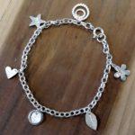 Make a Silver Charm Bracelet