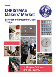 Poster for Makers' Market