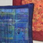 Scrappy Cushion - creative textile upcycling workshop