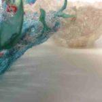 Free-Motion Embroidery using Dissolving Fabrics