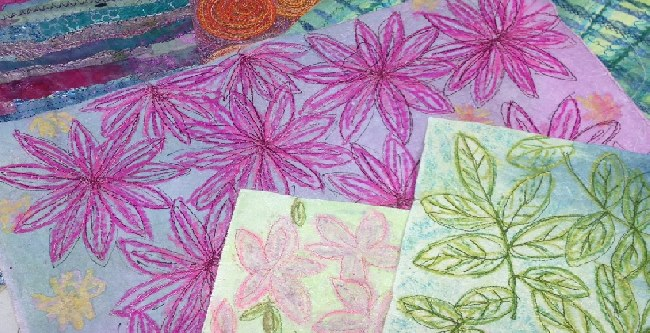 Paper Fabric - Creative Textiles workshop