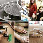Kids silver bangle making workshop