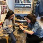 Kids silver ring making workshop