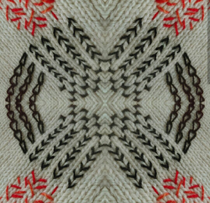 Embroidery on Knitted Fabric