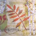Monoprinting for Stitch