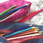Kids sewing - Make a pencil case