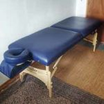 Image of massage table