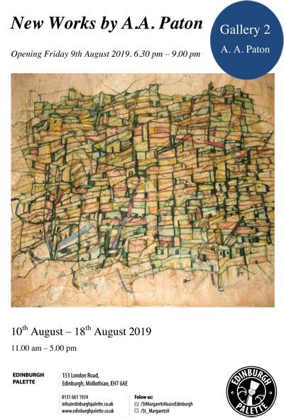 August 2019 Show AA Paton
