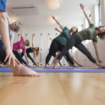 Iyengar yoga class - Level 1