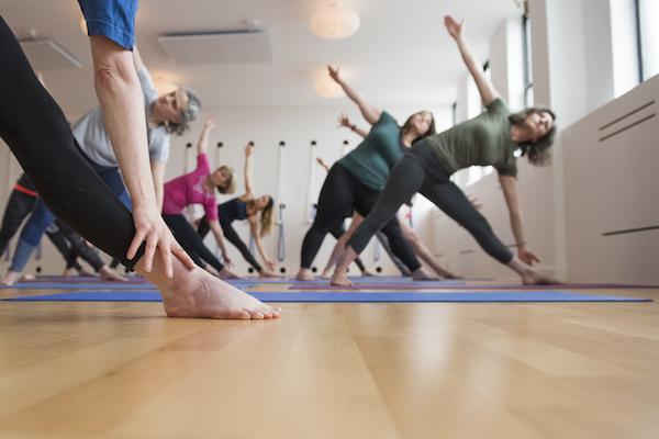Iyengar yoga class - Level 1