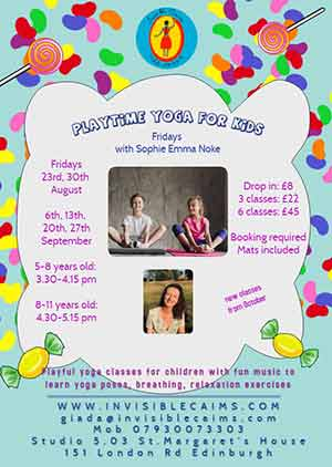 Playtime yoga for kids: 5-8 years old