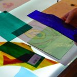 Stained glass for beginners. Copper foil taster day