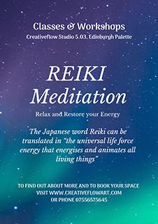 Reiki Meditation Classes