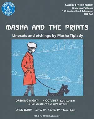 Masha and the prints